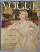Vogue Magazine - 1960 - December